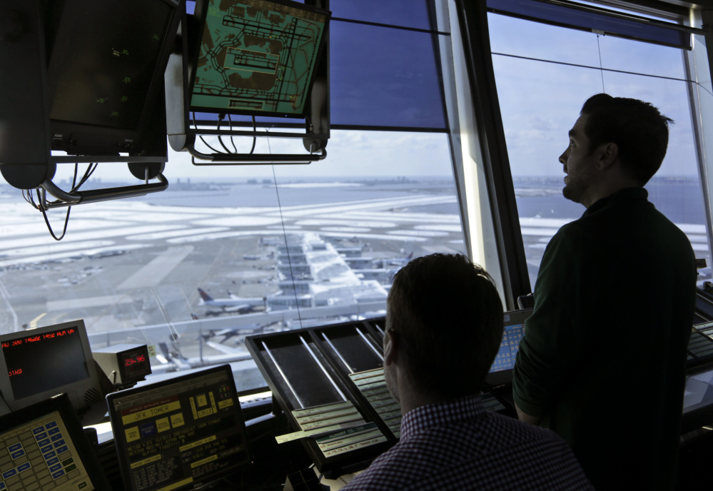 President Trump is looking to shift responsibility for the nation's air traffic control system from the federal government to a private, nonprofit corporation run by airlines and other aviation interests.