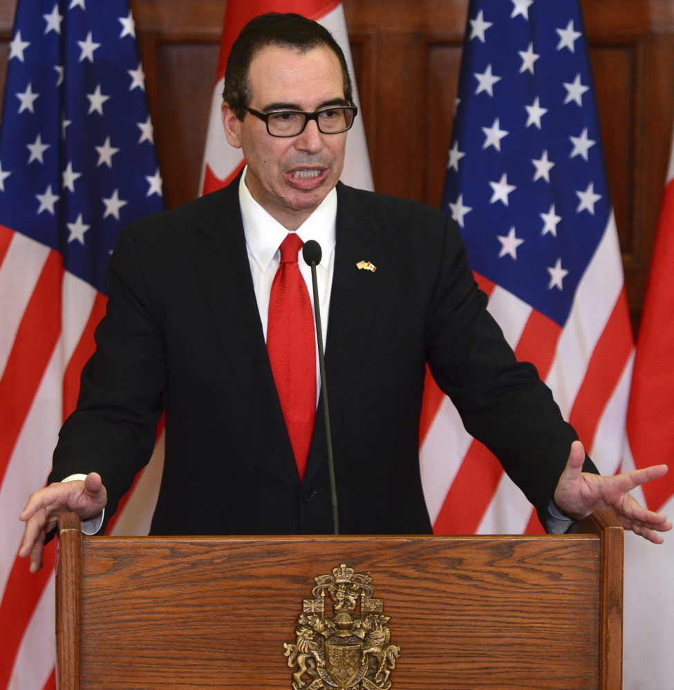 Secretary of the Treasury Steven Mnuchin said the sooner Congress raises the debt ceiling the better.