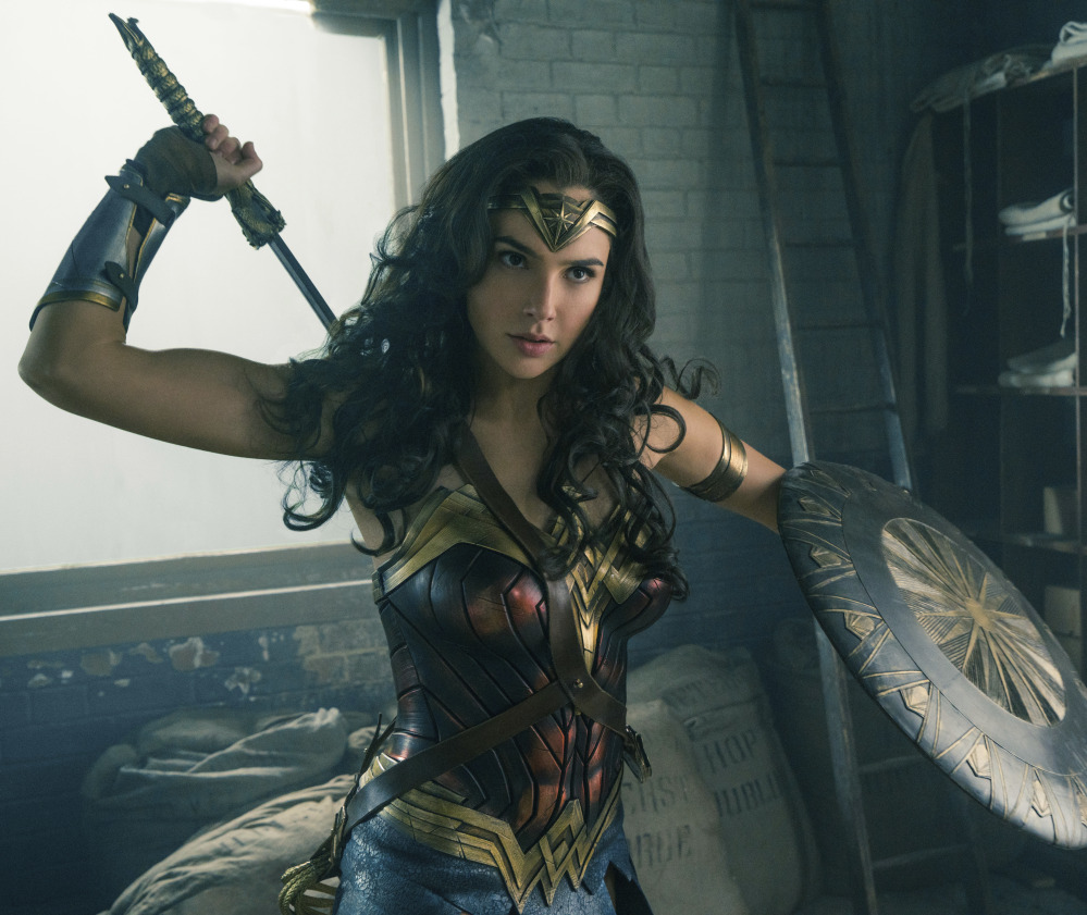 "Gal Gadot's ""Wonder Woman"" topped the charts with $57.2 million at the box office, easily besting Tom Cruise's franchise-launching Universal property ""The Mummy."""