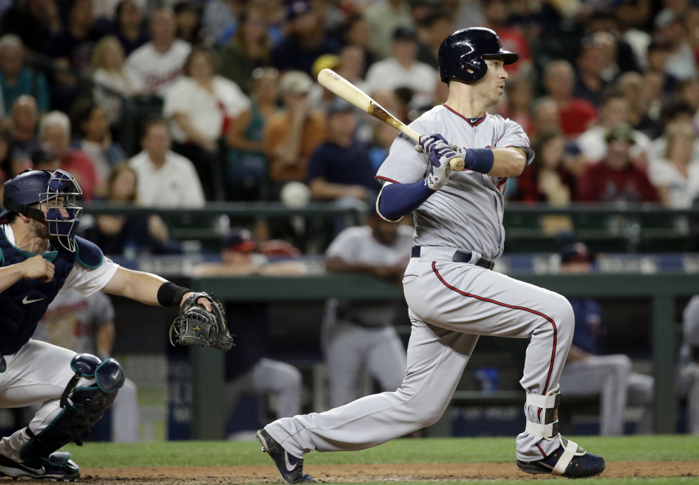The Minnesota Twins took Joe Mauer the last time they had the No. 1 overall pick in the major league draft, and they're hoping for similar good fortune Monday night.