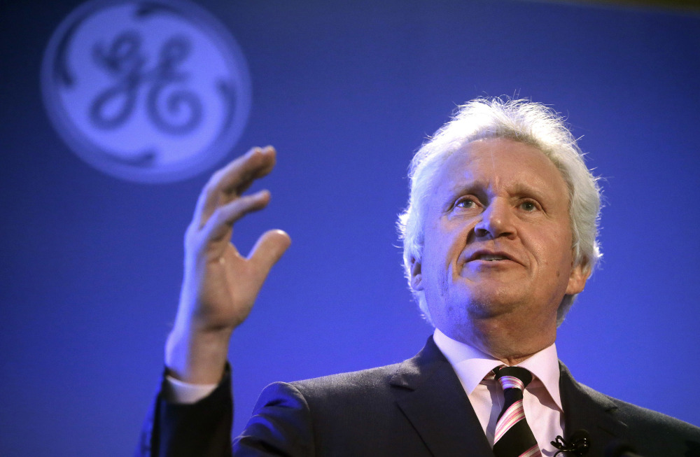 Jeffrey R. Immelt is stepping down after 16 years as chief executive officer of General Electric. John Flannery, president and CEO of GE's health care unit, will take over as CEO in August.