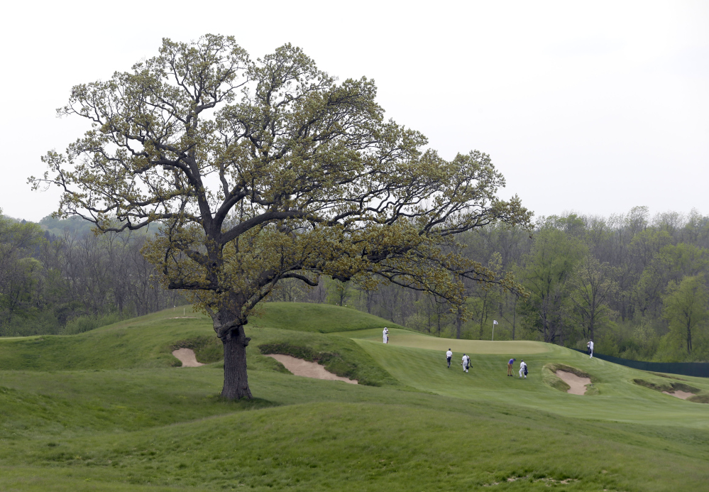 This was Steve Trattner's vision for a Wisconsin cattle farm. He convinced Bob Lang to buy the territory and build Erin Hills, which will host the U.S. Open this week. Trattner is now serving 35 years in prison.