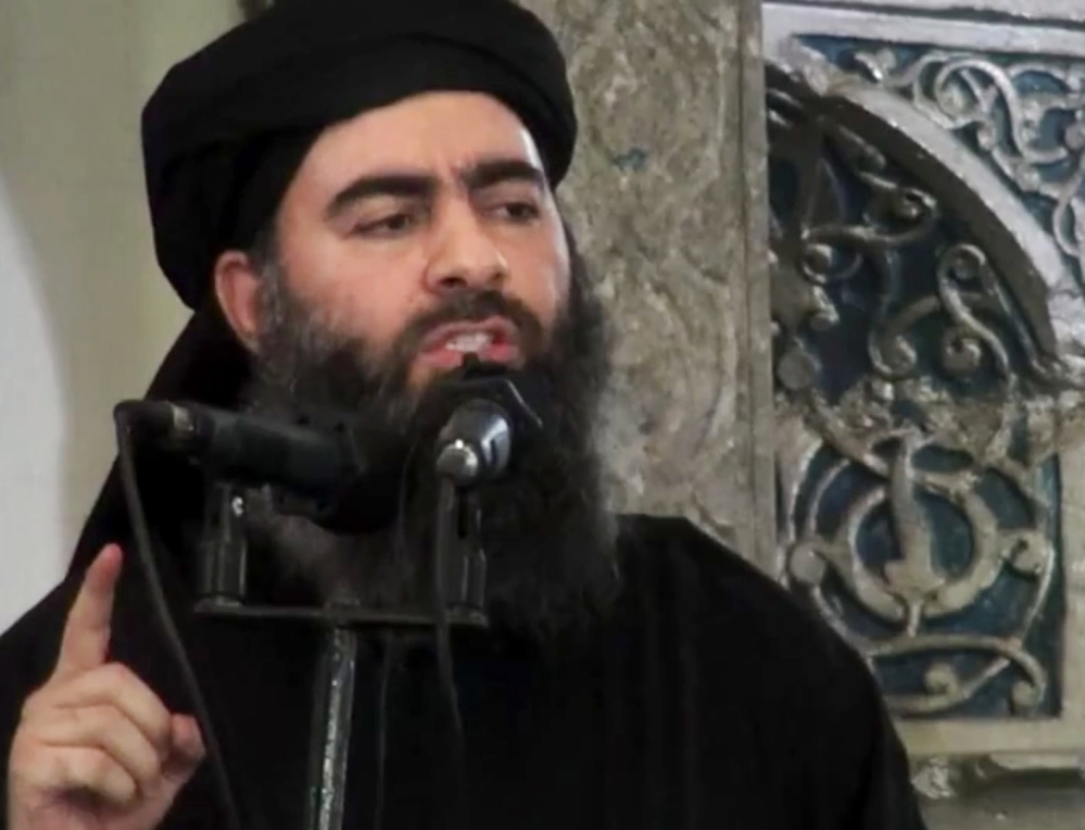The Russian military says it may have killed Islamic State leader Abu Bakr al-Baghdadi in an airstrike.