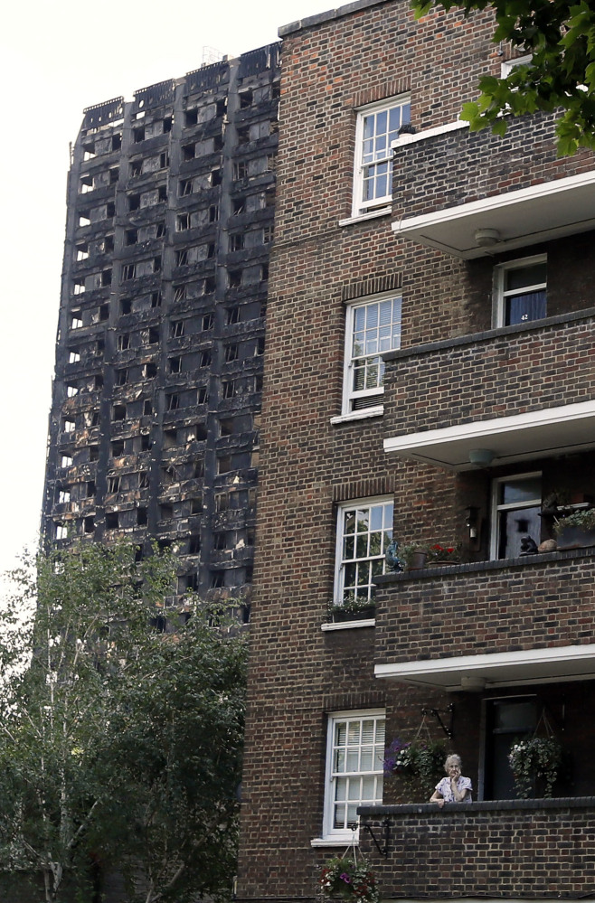The fire that burned through Grenfell Tower in London has been blamed on newly installed exterior panels.