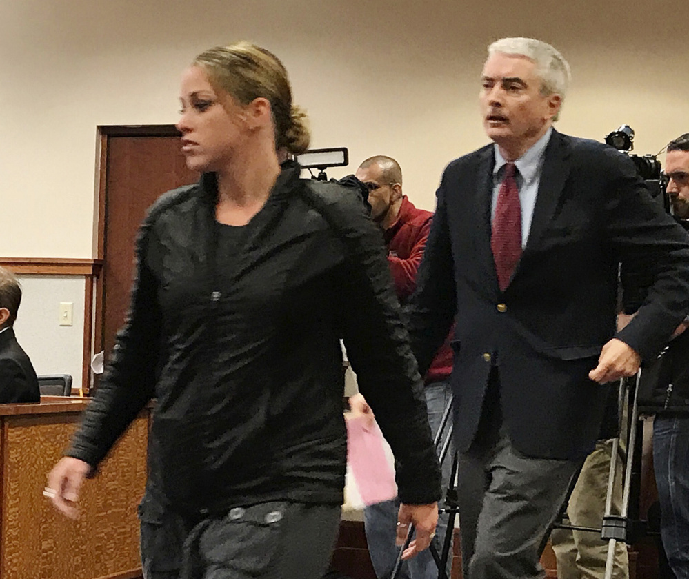 Hillary McLellan pleaded not guilty on Tuesday to a felony theft charge. She allegedly took $10,5000 for non-existent cancer treatments.