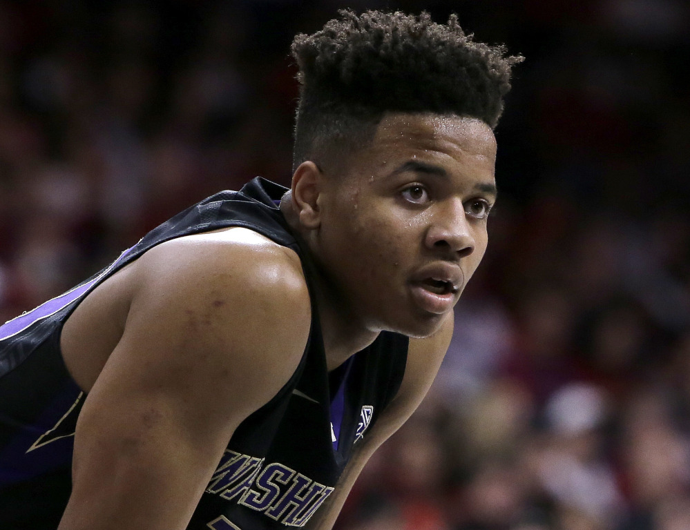 "Washington guard Markelle Fultz isn't yet an NBA player but has already been ""traded."" He's the consensus No. 1 pick in Thursday's draft, a selection that the Celtics dealt to the 76ers just days ago."