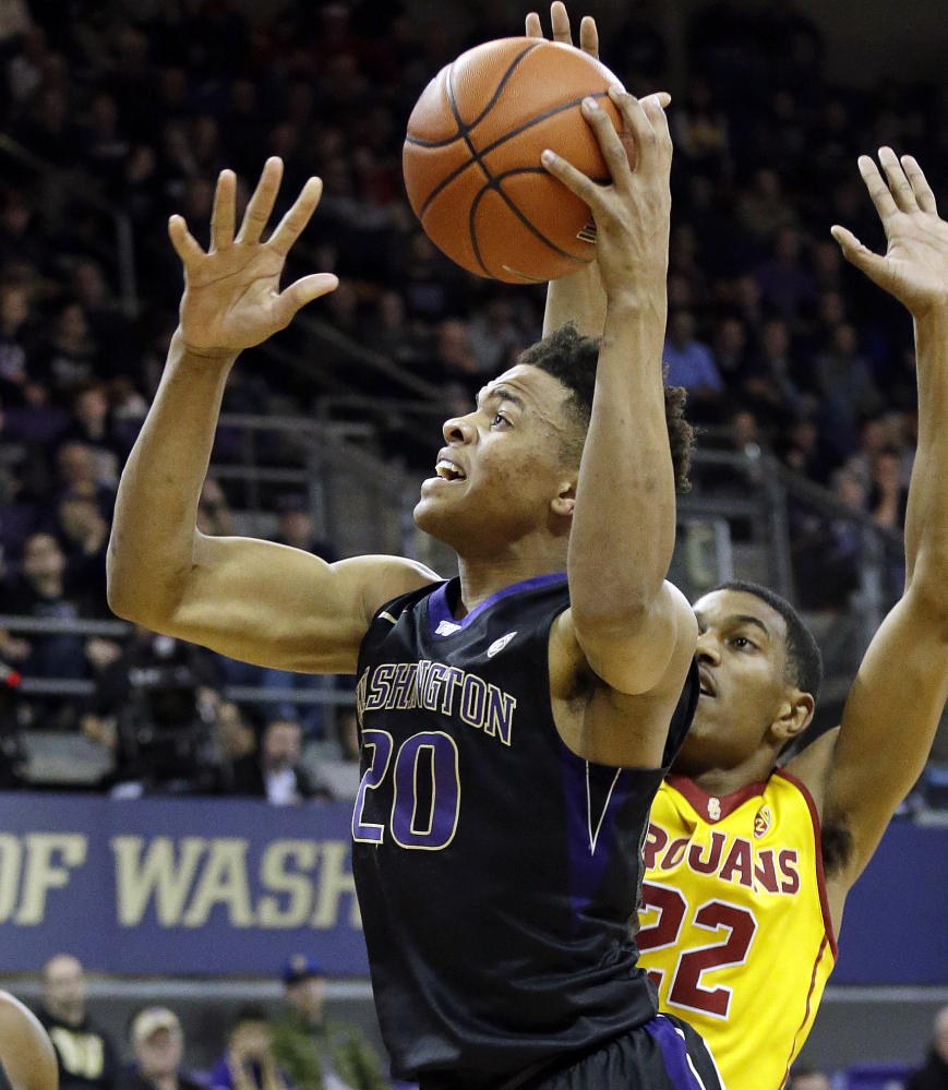 Markelle Fultz, who averaged more than 23 points per game in his one season at the University of Washington, was drafted by the 76ers with the No. 1 overall pick.
