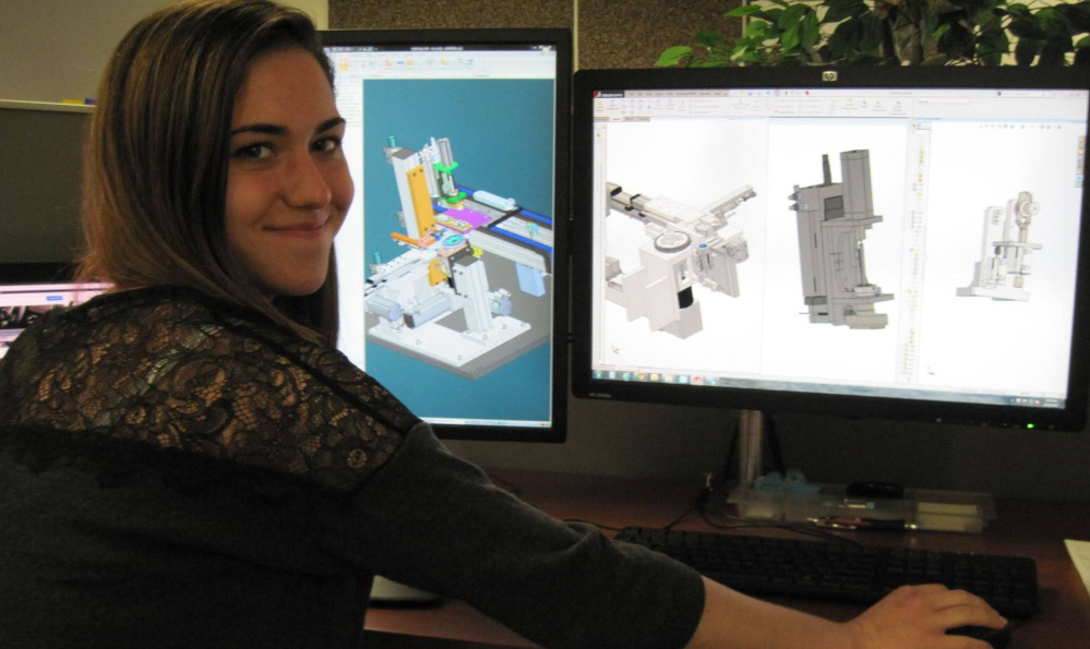 Lily Williams,  a graduate of Biddeford Regional Center of Technology's Engineering and Architectural Design class, was named to the U.S. Presidential Scholars Program in 2016.