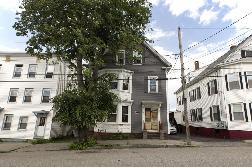 """The multifamily home at 31 East Oxford St. in Portland's East Bayside neighborhood has been deemed a """"disorderly"""" house by the city and tenants have been evicted because of alleged inaction by the property's landlord, Clark Stephens."""