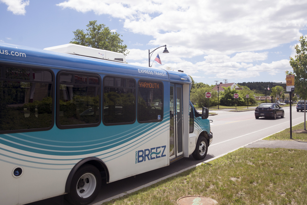 Falmouth and Yarmouth bus stops are underperforming while ridership is strong elsewhere, the Metro manager says.
