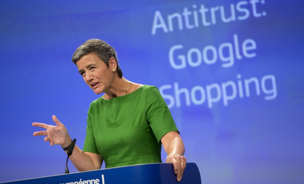 Tuesday's decision by the European Union's competition arm, led by Margrethe Vestager, above, reinforced her emerging role as the world's most aggressive antitrust regulator.