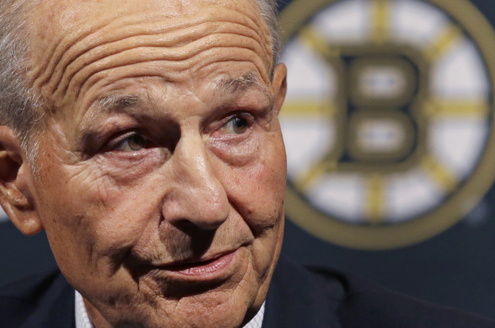 Bruins owner Jeremy Jacobs, elected to the Hockey Hall of Fame, has owned the team since 1975 and has won just one Stanley Cup.
