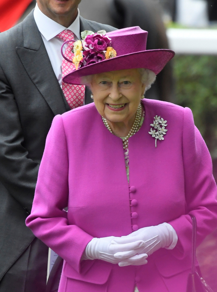 "Queen Elizabeth II's ""sovereign grant"" will be $104.8 million next year."