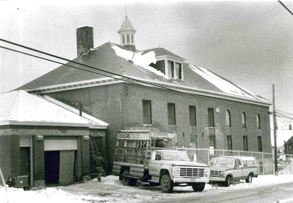 The Somerset County Jail in Skowhegan, seen in 1983.