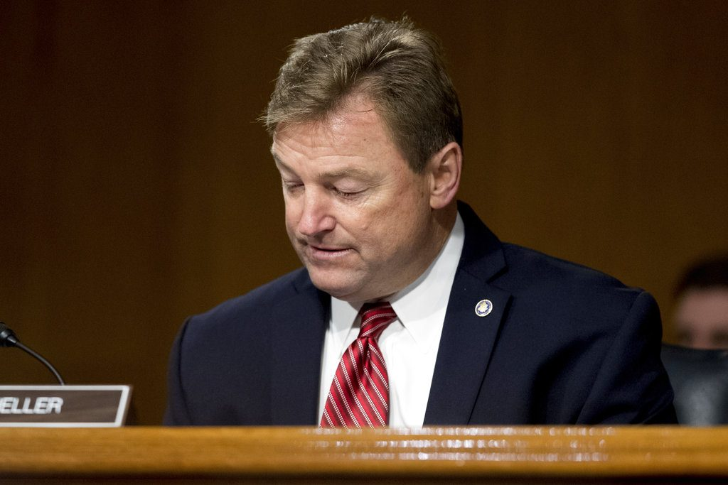 Sen. Dean Heller announced he will not support the Republican health care plan Friday.   He is the first Republican senator to announce his opposition.