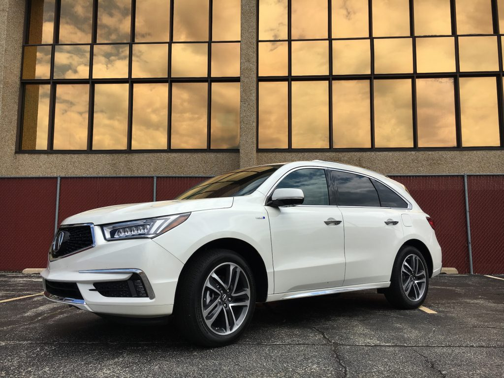 2017 Acura MDX Sport Hybrid is the quietest, smoothest hybrid crossover on the market.