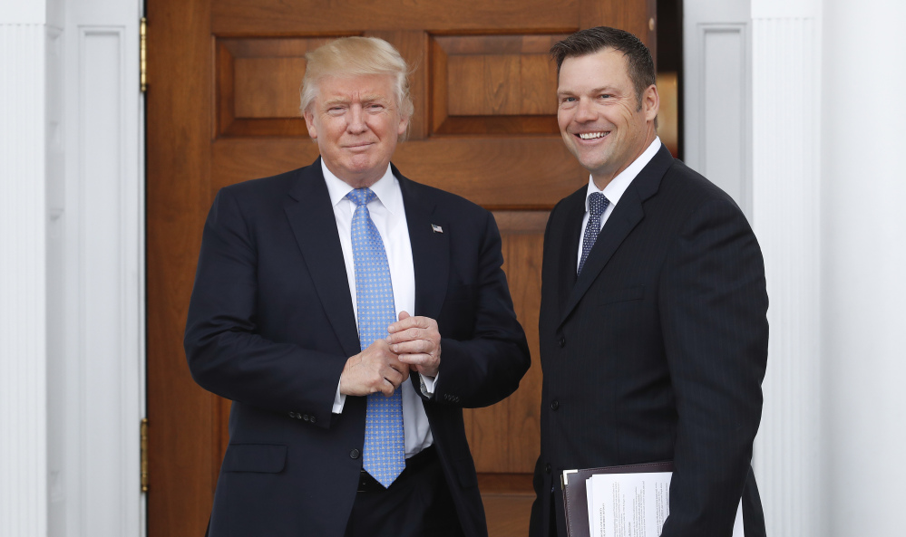 The Trump administration has said it will destroy voter registration data compiled by his now-defunct voter fraud commission, led by Kansas Secretary of State Kris Kobach.