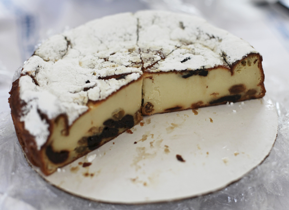 The far Breton is a custardy pudding cake, light and ethereal.