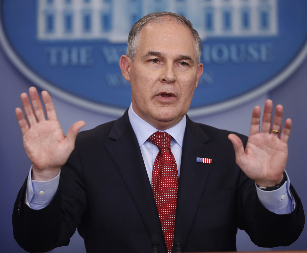 A court says EPA chief Scott Pruitt overstepped his authority in trying to delay a rule requiring companies to monitor and reduce methane leaks.