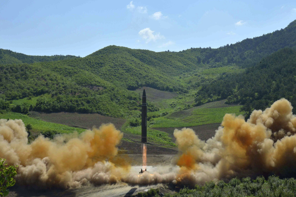 The launch of what was said to be a Hwasong-14 intercontinental ballistic missile from North Korea on Tuesday is seen as a potential game-changing move.
