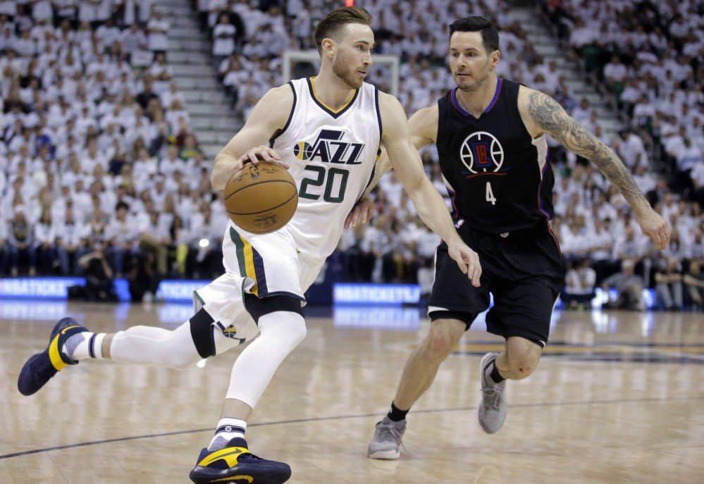 Forward Gordon Hayward announced Tuesday night that he will join the Boston Celtics after seven seasons with the Utah Jazz.