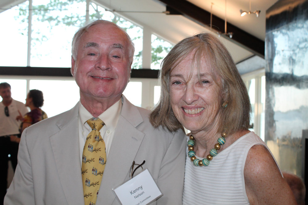 Host committee member Kenny Nelson with his wife, Mary.