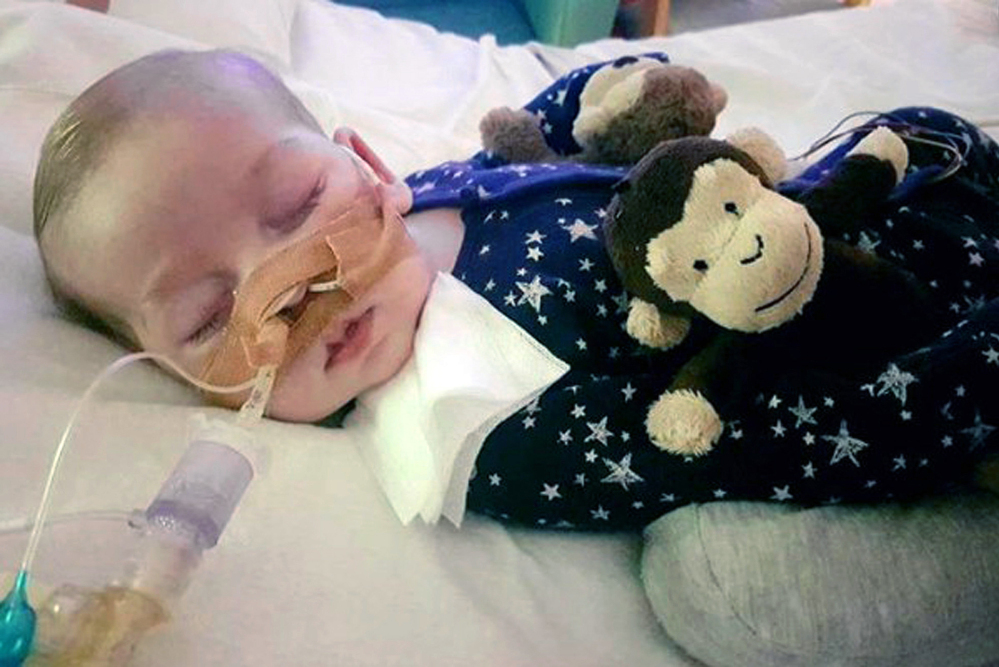 An American doctor testified Thursday in favor of an experimental treatment for 11-month-old Charlie Gard, who has a rare genetic disease and is on life support in England.