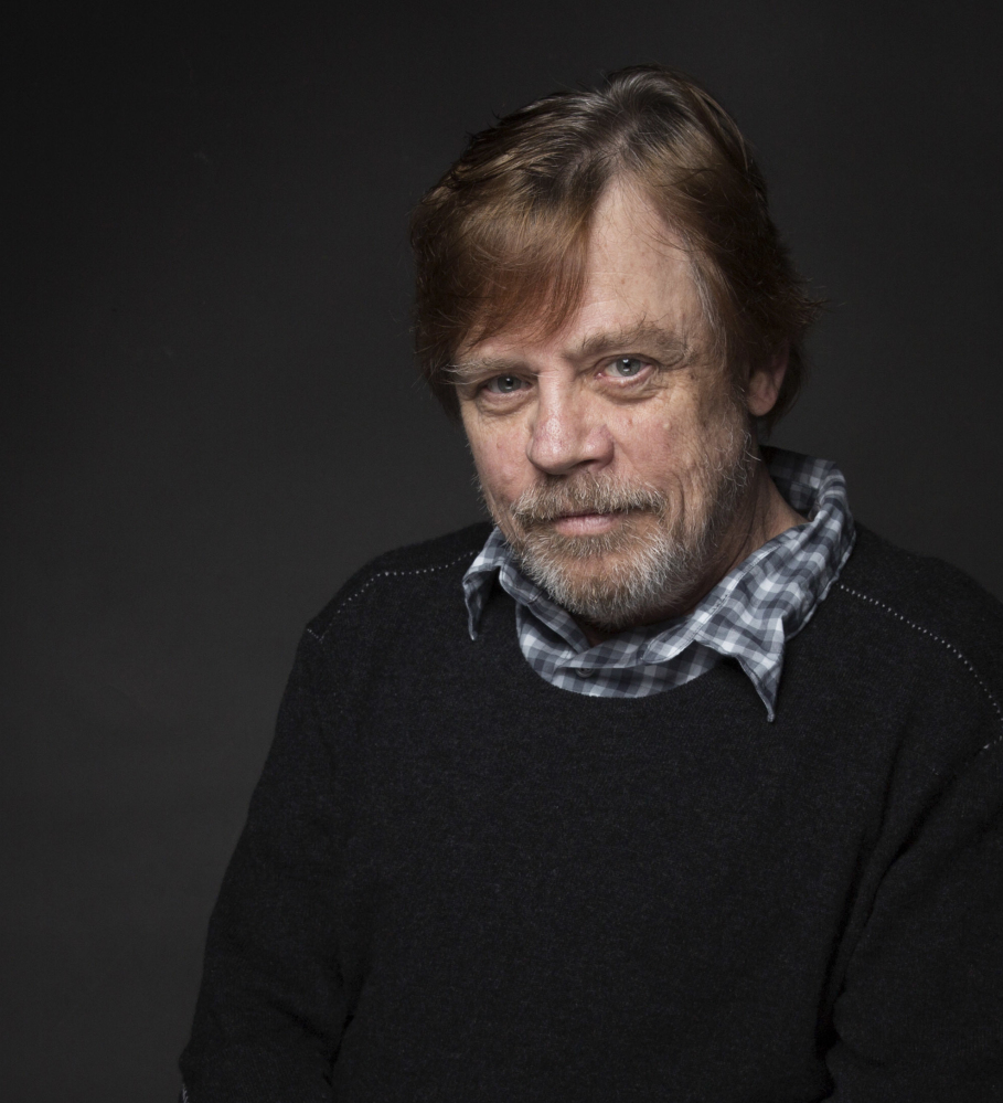 Mark Hamill was named a Disney Legend along with the late Carrie Fisher.