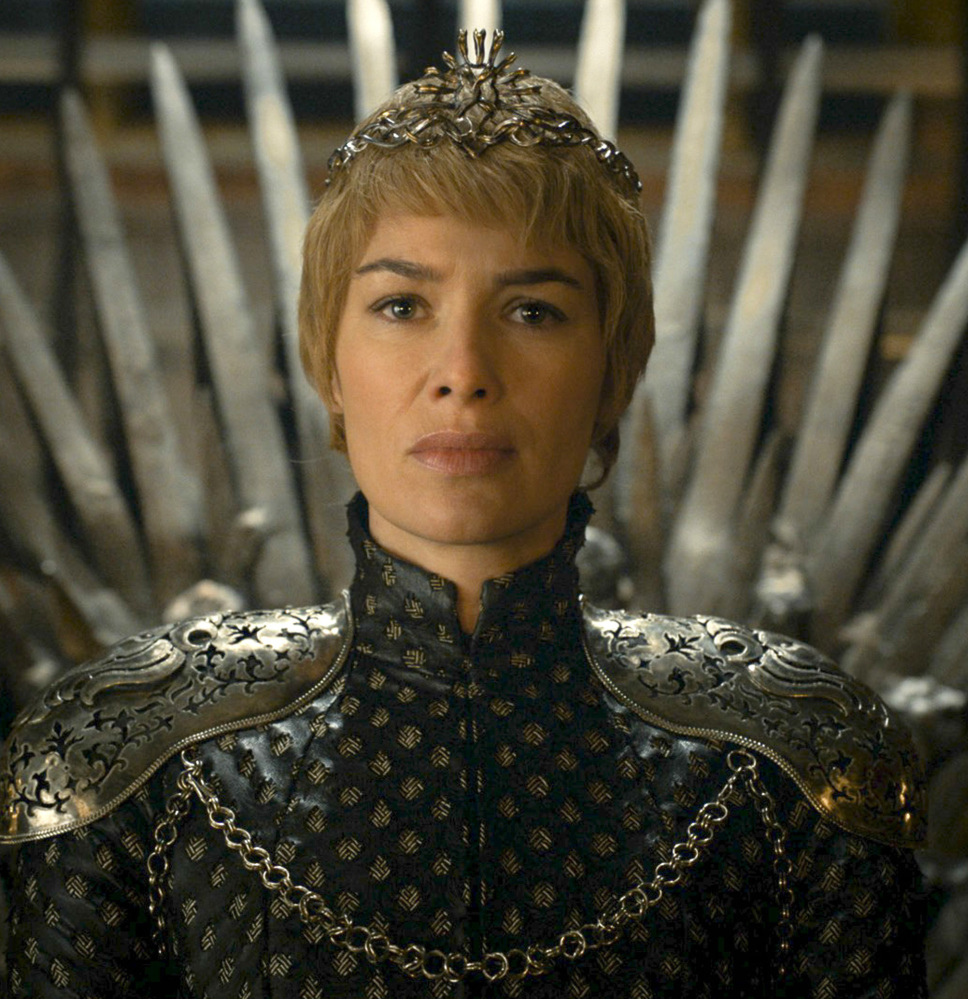 HBO via AP Cersei Lannister (Lena Heady) has no enemies left to fight in King's Landing, but plenty headed her way.