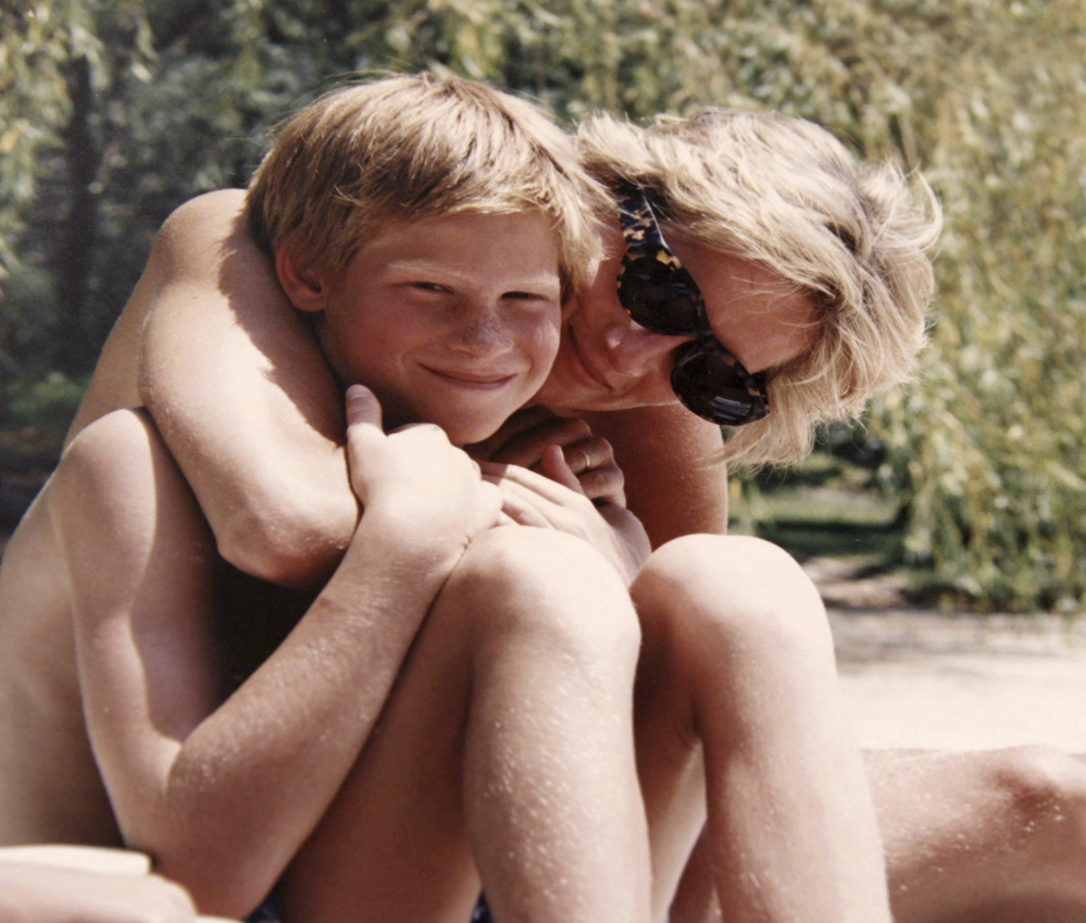 "A family photo of the late Princess Diana and Prince Harry on holiday is featured in the documentary ""Diana, Our Mother: Her Life and Legacy,"" airing Monday on HBO and on ITV in Britain."