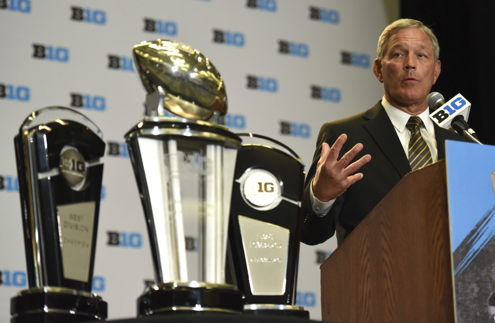 Kirk Ferentz is in his 19th season at Iowa, making him the longest tenured coach in the Bowl Subdivision.