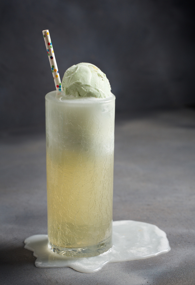 Ginger Pistachio Float