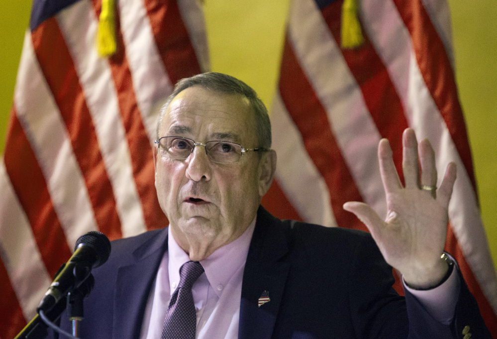 Gov. LePage says distracted-driving and tobacco-sales bills amount to