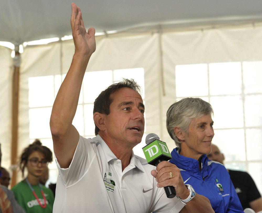 Beach to Beacon race director Dave McGillivray's friendship with race founder Joan Benoit Samuelson dates back to the late 1970s, when both were competitive distance runners from New England.