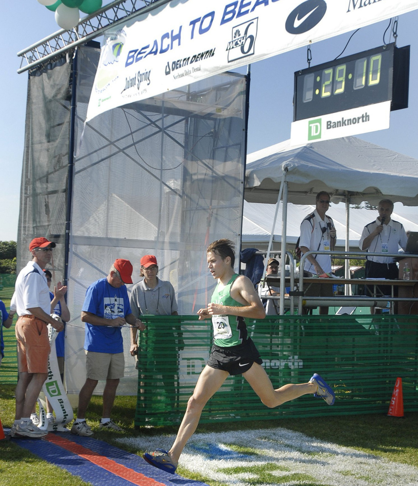 Ben True was still living in Maine in 2009, and broke the course record for Mainers with a time of 29 minutes, 10 seconds. True, now a professional runner, won the overall title in 2016.