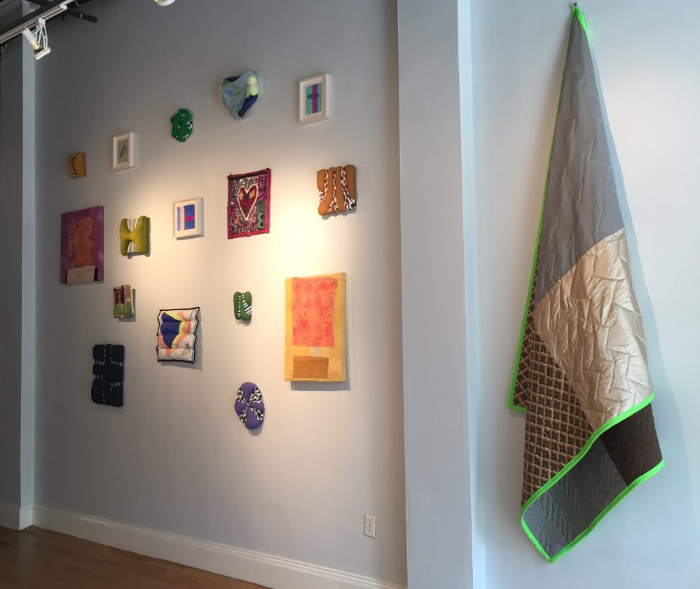 "A grouping in ""Selvedge"" at Able Baker Contemporary in Portand."