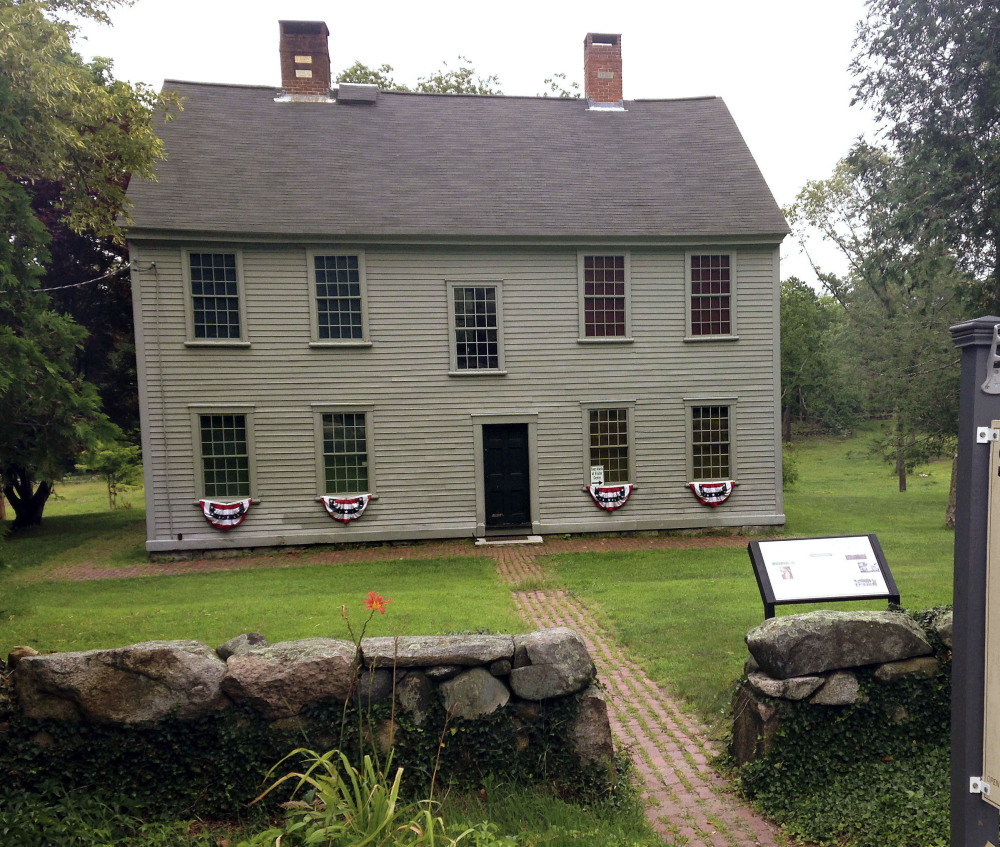 The 275th anniversary of Greene's birth will be marked on Saturday at Spell Hall, his homestead in Coventry, R.I.