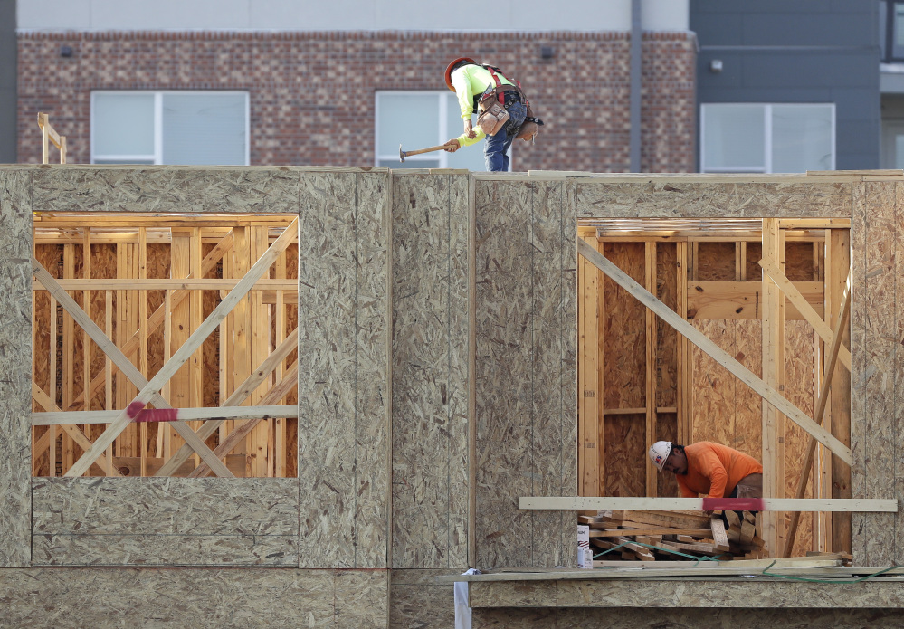 Weak housing construction was the only major drag on growth in the last quarter, according to the Commerce Department.