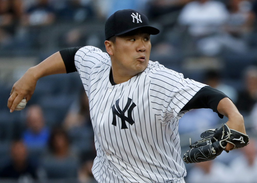 Yankees starting pitcher Masahiro Tanaka took a perfect game into the sixth inning of Friday's 6-1 win against the Rays in New York. He finished with a career-high 14 strikeouts.