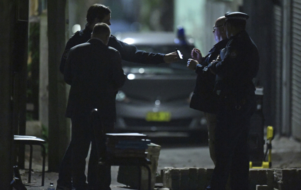 Security has been enhanced at Sydney Airport following reports of a terrorist network targeting planes.