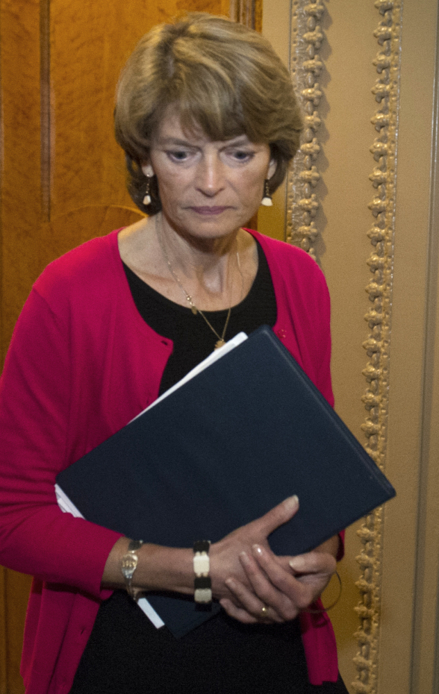 Sen. Lisa Murkowski, R-Alaska, says it was within the president's rights to try to influence her ACA vote.