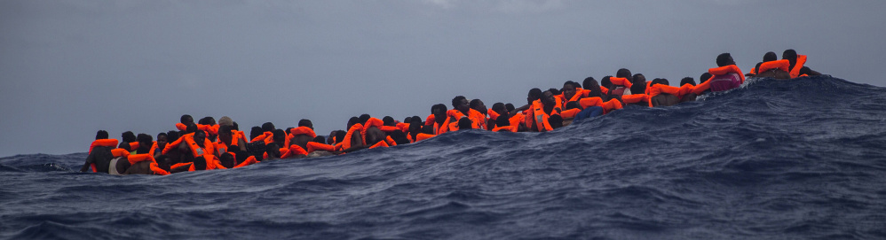 Sub-Saharan migrants awaiting rescue in the Mediterranean would be picked up and sent home by Generation Identity.