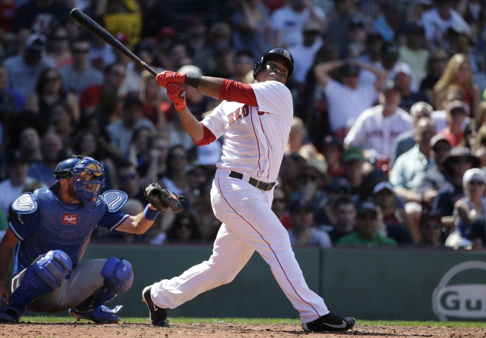 The home run – this one by rookie Rafael Devers on July 30, is once again a weapon for the Red Sox.
