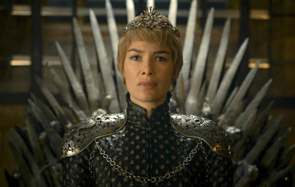 Lena Headey plays Cersei Lannister in a scene from