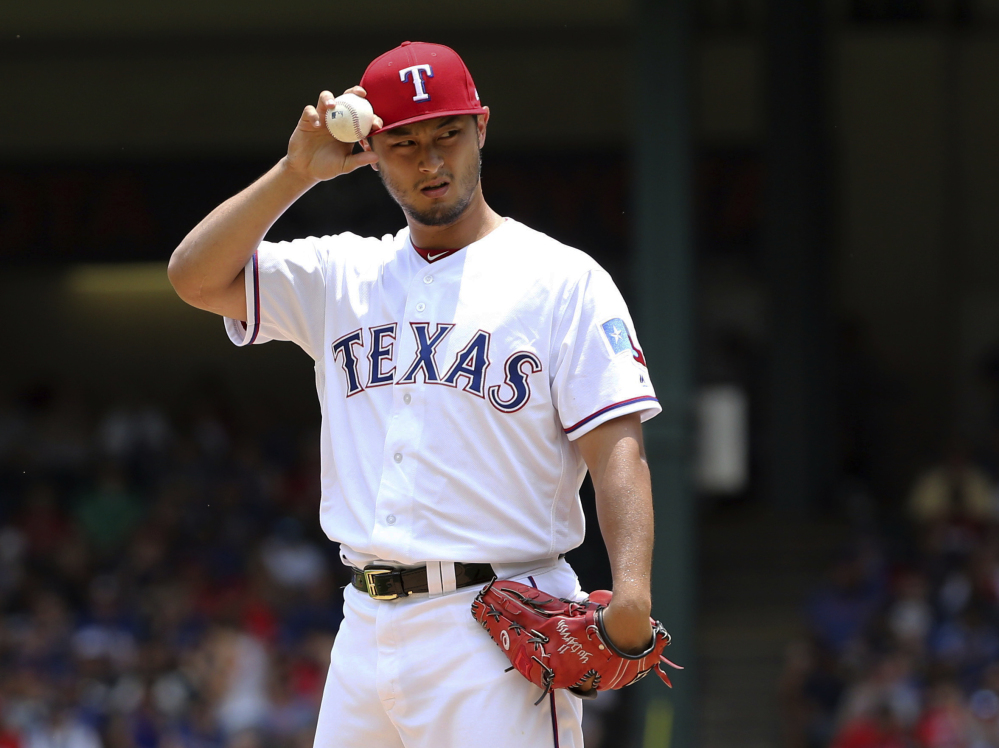 Yu Darvish, an All-Star in four of his five major league seasons, was traded to the Los Angeles Dodgers on Monday. Darvish is 6-9 with a 4.01 ERA in 22 starts this season.
