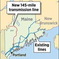 Cmp Wants To Build 145 Mile Transmission Line Through