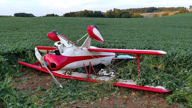 Two Maine men were in this experimental plane that crashed near Loudonville, Ohio.