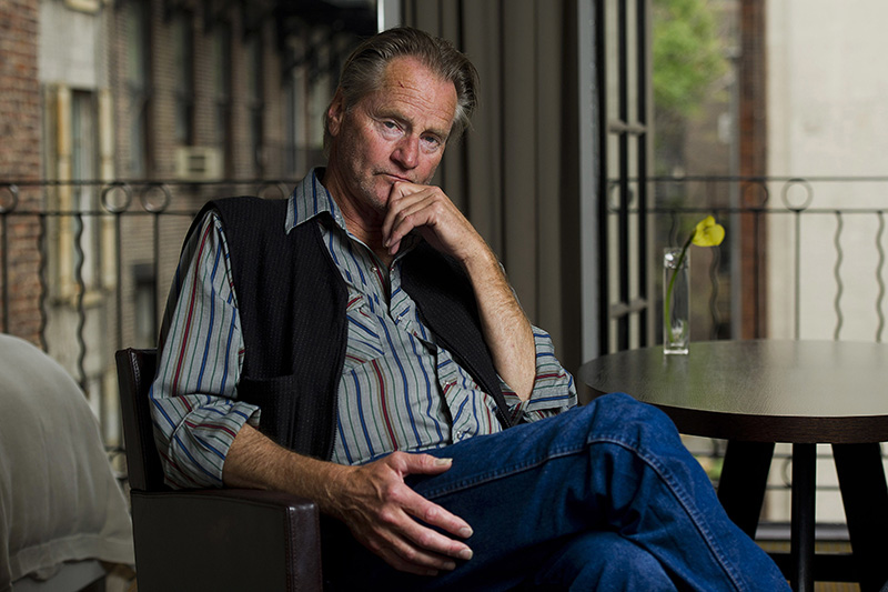 Sam Shepard poses for a portrait in New York in 2011.