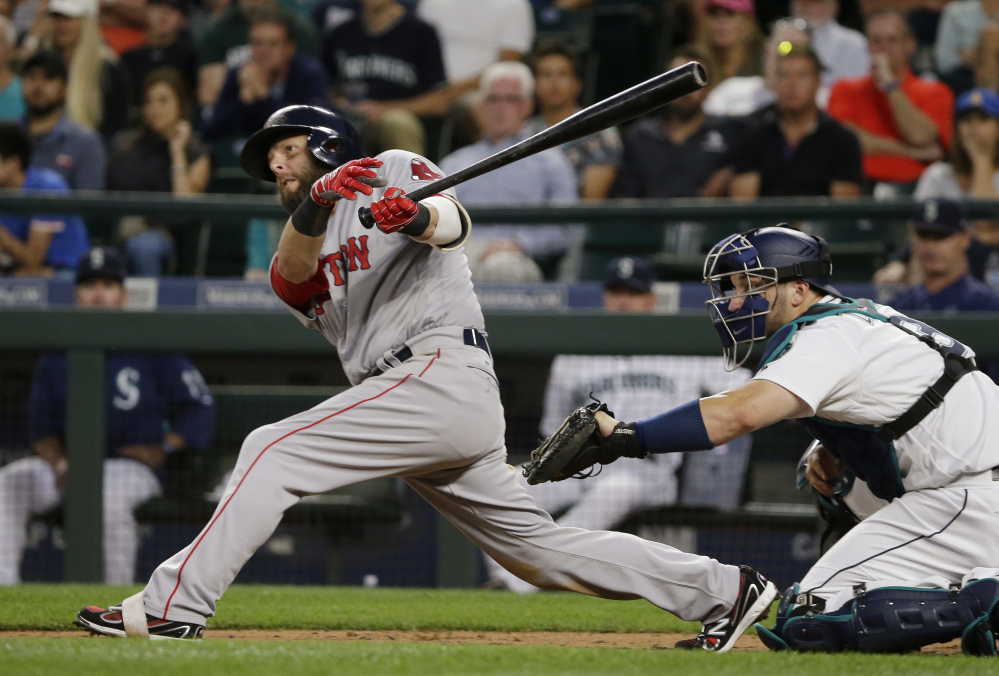 The Boston Red Sox placed second baseman Dustin Pedroia on the 10-day disabled list with left knee inflammation. Pedroia has missed the Red Sox's last three games.