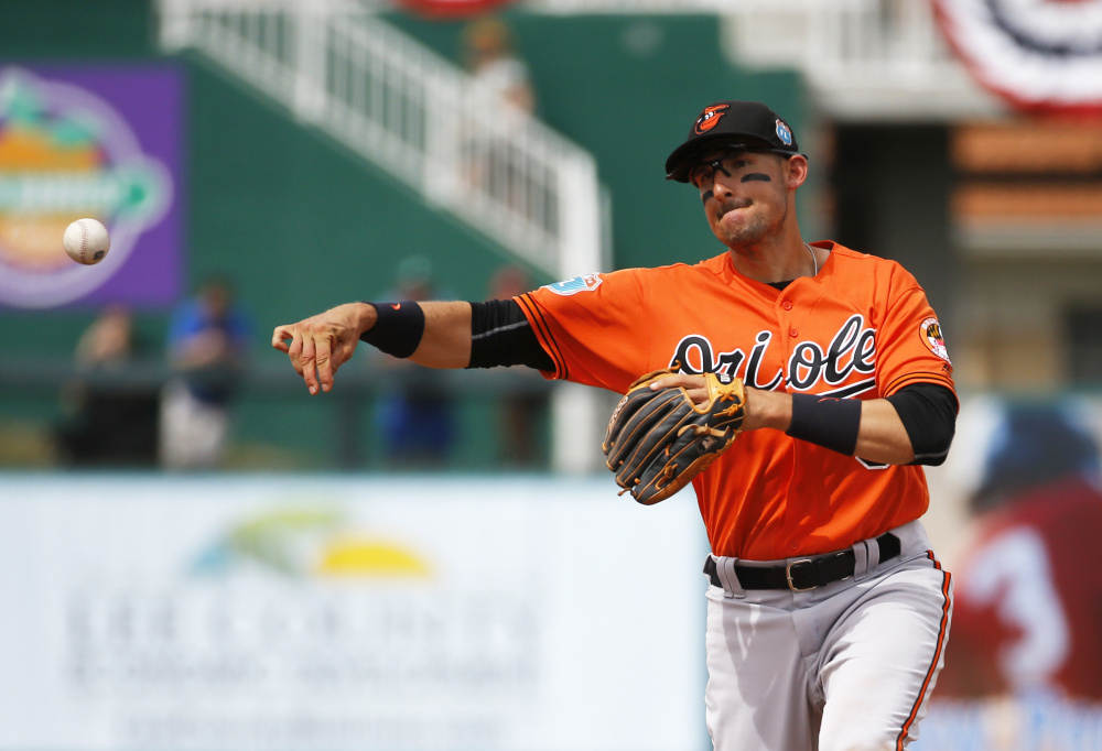 Ryan Flaherty of the Baltimore Orioles is scheduled to appear at Hadlock Field on Friday with the Bowie Baysox as works his way back from a shoulder injury. Flaherty is from Portland and graduated from Deering High School.
